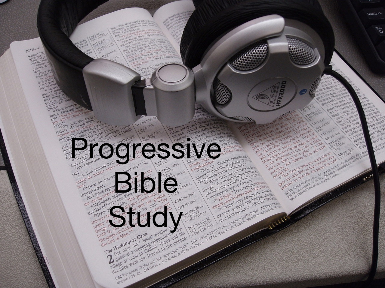Progressive Bible Study (Sept 6)